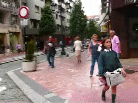 Travel Spain: Asturias -- Nature's Paradise. Arrival in Oviedo.