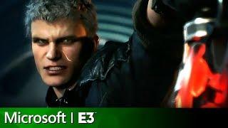Devil May Cry 5 Full Reveal | Microsoft Xbox E3 2018 Press Conference