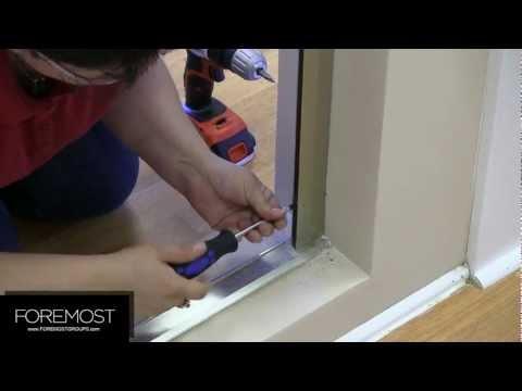Cove Pivot Shower Door Installation - Foremost Shower Doors