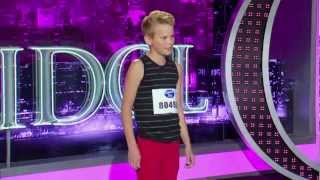 16 year old Kayden Stephenson -  Houston Auditions - American Idol - HD