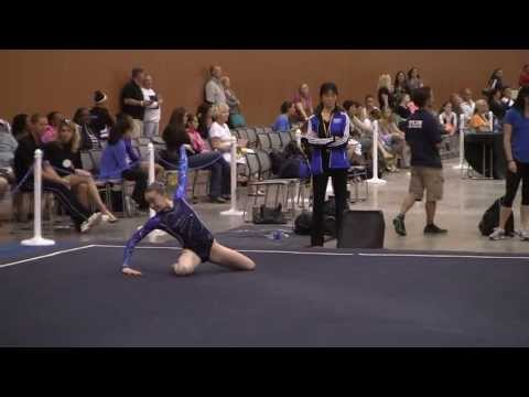 Kate Exley - Level 8 - San Mateo Gymnastics - 2013 Region 1 Championships