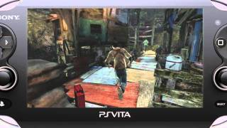 TGS 2011_ Uncharted_ Golden Abyss - Gameplay Demo (VITA)