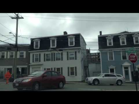 Uptown Saint John New Brunswick May 27th 2014 ' The Ghetto (Waterloo Street)