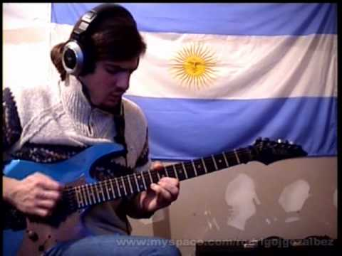 Rodrigo J. Gozalbez. - Shred This III Brett Garsed and DiMarzio Contest
