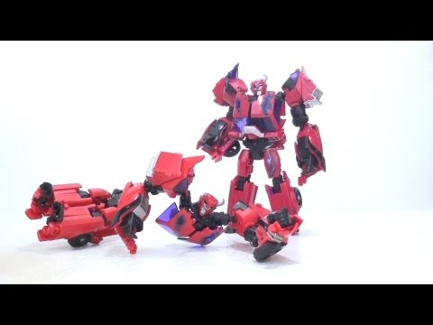 Video Review of the Transformer: Prime; First Edition Terrorcon Cliffjumper