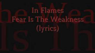 Watch In Flames Fear Is The Weakness video