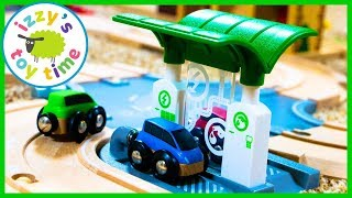 Cars for Kids! Brio City Road Playset! Fun Toy Trains for Kids