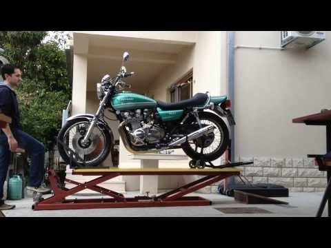 Motorcycle Lift Table KawasakiTripHD