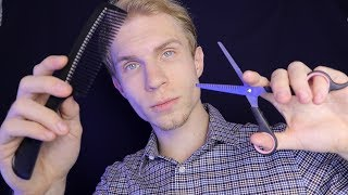 АСМР Расческа и Ножницы ✂️ ASMR Quick Haircut