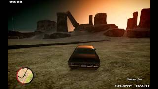 GTA 4 - San Andreas To IV (Rage Engine) Conversion Mod (Driving) (Beauty) (iCEnhancer 1.25) 1080P HD