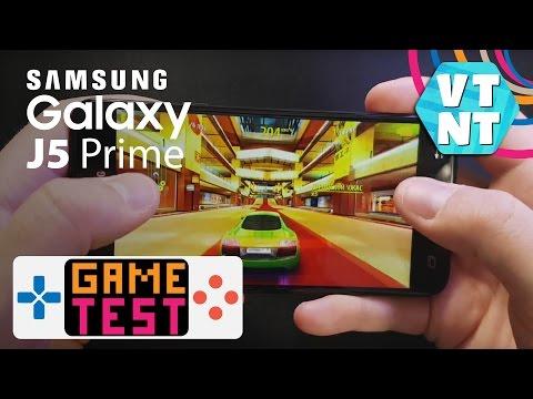 Samsung Galaxy J5 Prime Тест Игр WOT blitz, WWE Immortals, Asphalt 8