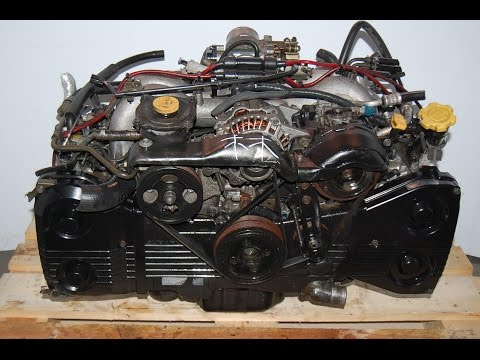 1999 Subaru Forester EJ25 Engine Removal