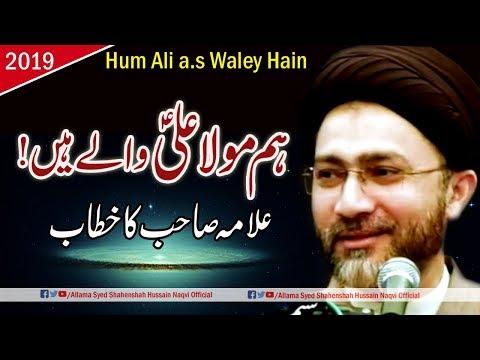 Hum Mola Ali a.s Waley hain by Allama Syed Shahenshah Hussain Naqvi