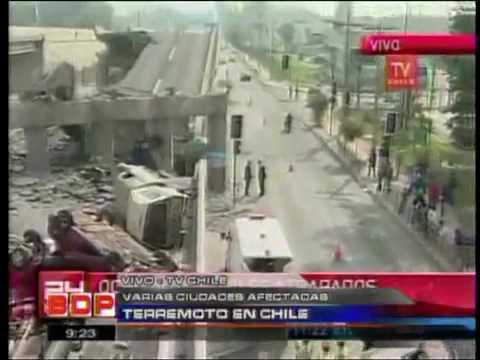 TERREMOTO IN CHILE MAGNETUDO 8.8 ! SI ASPETTA TSUNAMI ALLE HAWAII ORE 22:00 ITALIANE