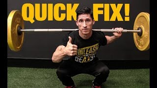 The SINGLE BEST Squat Tip I've Ever Used!