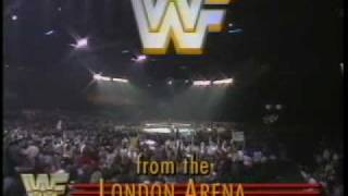 LONDON ARENA, ENGLAND 1989 Intro