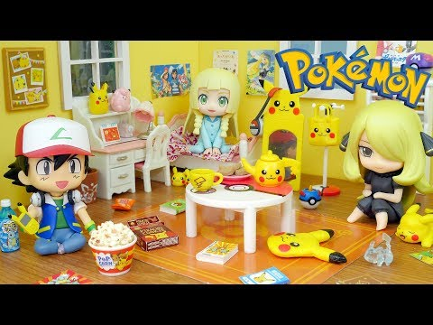 Pokemon Pikachu Room - Candy Toys (Re-Ment Miniatures)