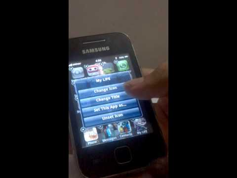 IOS7 For Galaxy y gt s5360 Review after installing rom  TrickyTricks