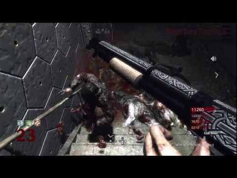 Call of Duty: World at War Nazi Zombies Der Riese 4-Player Strategy (Rounds 22-23)