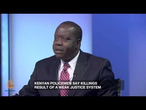 Kenyan minister denies police 'death squads'