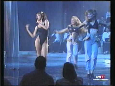 "Sabrina Salerno ""Boys, boys, boys"" Spanish Tv"