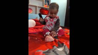 Funny baby phone call