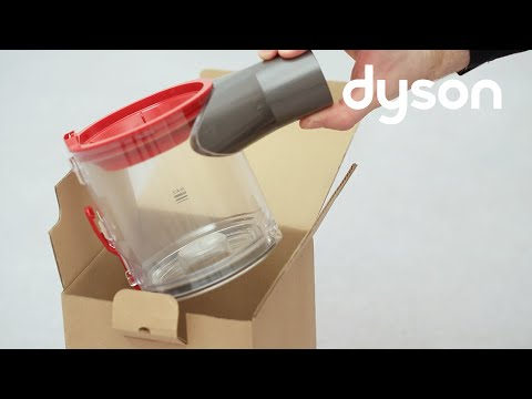 Dyson V8 cord-free vacuums - Replacing the clear bin (UK)
