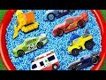 Learn Characters with CarToys, Tayo The Little Bus, Disney Car3, Robocar & Red Pool