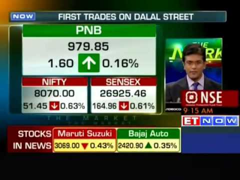 First trades on Dalal-St: Sensex down by 150 pts