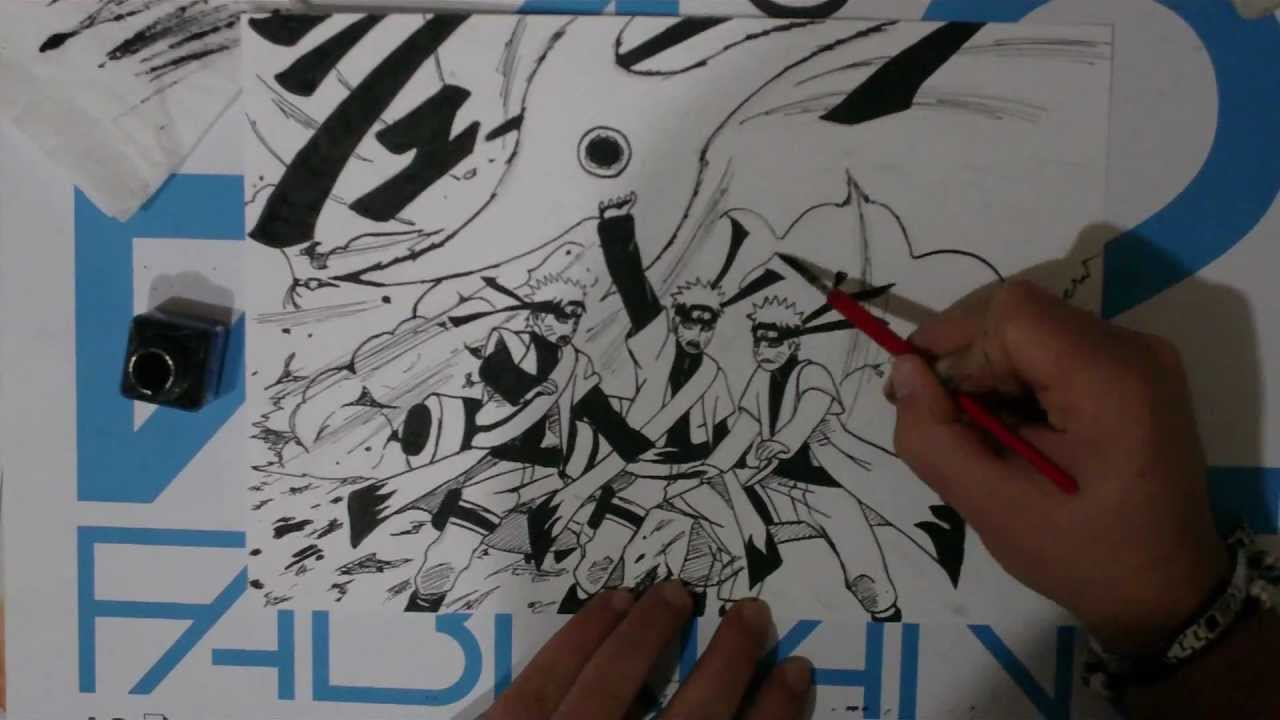 Naruto Sage Mode Drawings How to Draw Naruto Sage Mode