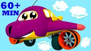 The Wheels On The Plane Go Round And Round Part 2 | Plus Many Other Top Nursery Rhymes For Kids