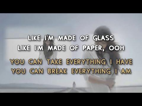 Demi Lovato - Skyscraper [Karaoke/ Instrumental]