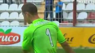 Golazo de Piti (Rayo Vallecano 4 - Recreativo 0) Jornada 42 Temporada 09/10