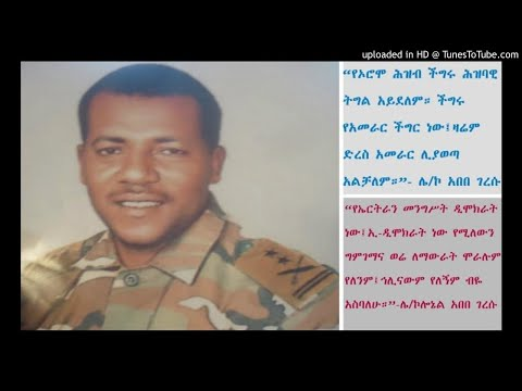 Interview With Col. Abebe Geresu - SBS Amharic