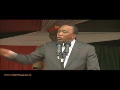 President Kenyatta On CORD Rallies