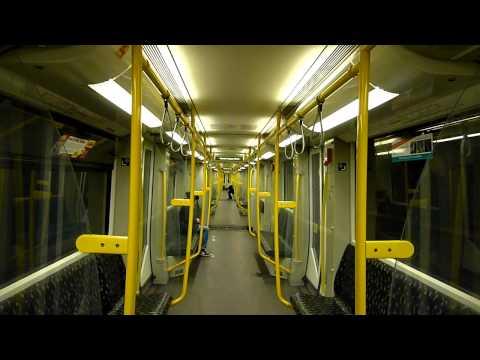 U Bahn Berlin: Mitfahrt HK als U12 Westend