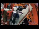 Transformers Stop Motion Movie 1986: The Hijack (Shuttle attack scene)