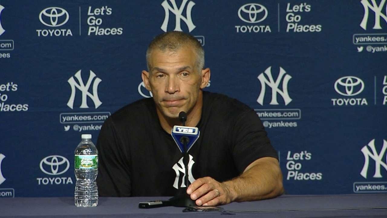 TB@NYY: Girardi on Yankees walk-off win