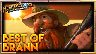 Hearthstone | Brann Bronzebeard Moments