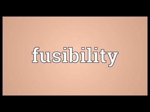 Header of fusibility