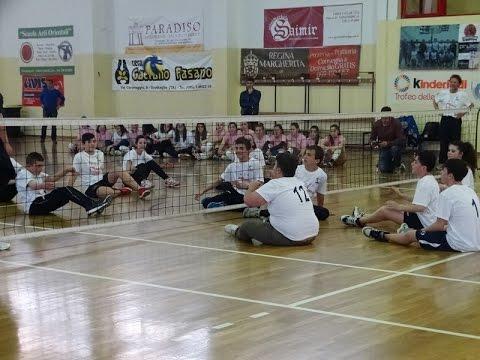 25-04-2015: Il Sitting Volley in Puglia, esibizione a Grottaglie