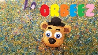We Filled The FNAF PLUSH world with ORBEEZ