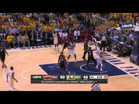 Miami Heat vs Indiana Pacers Game 5 | May 28, 2014 | NBA Eastern Conference Finals 2014