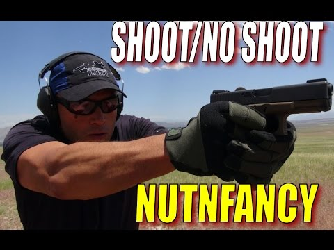 SHOOT/NO SHOOT Pistol Decisions with Nutnfancy, OfficerJared