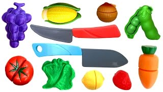 Toy Cutting Food Velcro Cooking Playset Kitchen Comiditas de Juguete Toy Food Play Food
