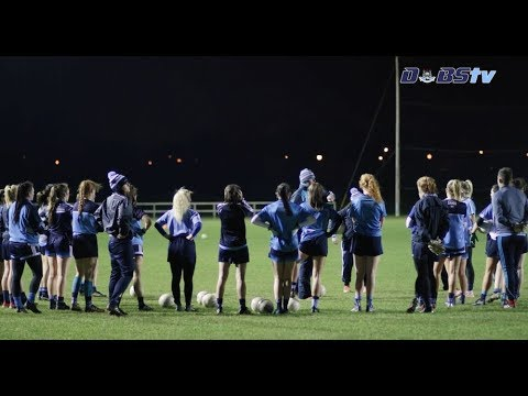 Dublin Senior Ladies Footballers Training For National League