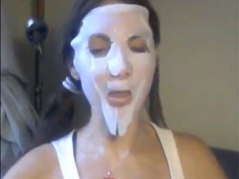 MASCARILLA que aclara manchas, paños, cicatrices de acne y da luminosidaaaad! WOW!