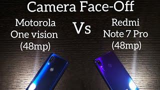 Camera Face-off : Redmi Note 7 Pro vs Motorola One Vision