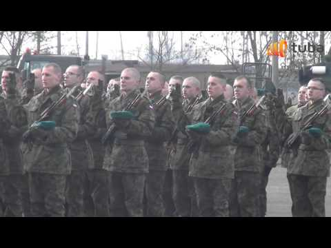 Przysięga wojskowa 1  Pułk Saperów w Brzegu 12 lutego 2016