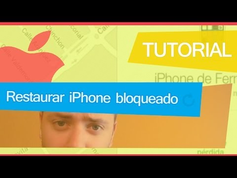 Como restaurar tu iPhone bloqueado